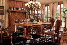 Repliky starožitného nábytku, Luxusní, stylový, hitorizující, zámecký, kvalitní nábytek, interiéry Řada ROYAL M03 - luxusní jídelna, jídelní stůl rozkládací, židle, židle s područkami, skleník, stojan na květiny