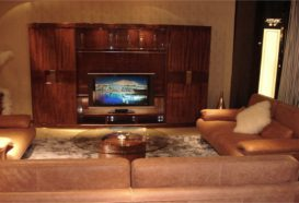 Luxusní, designový, art deco, kvalitní nábytek, interiéry Viola DESING 836 - obývací pokoj, víceúčelová skříň, sedací souprava, konferenční stolek