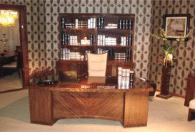 Luxusní, designový, art deco, kvalitní nábytek, interiéry Viola DESING 836 - kancelář, kancelářský stůl, kancelářské křeslo, knihovna, stojan