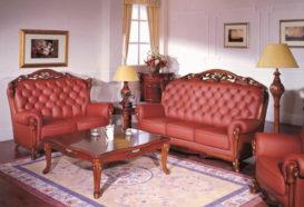 Repliky starožitného nábytku, Luxusní, stylový, historizující, zámecký, kvalitní nábytek, interiéry Viola ROYAL 108 - obývací pokoj, sedací souprava, konferenční stolek, lampa, komoda